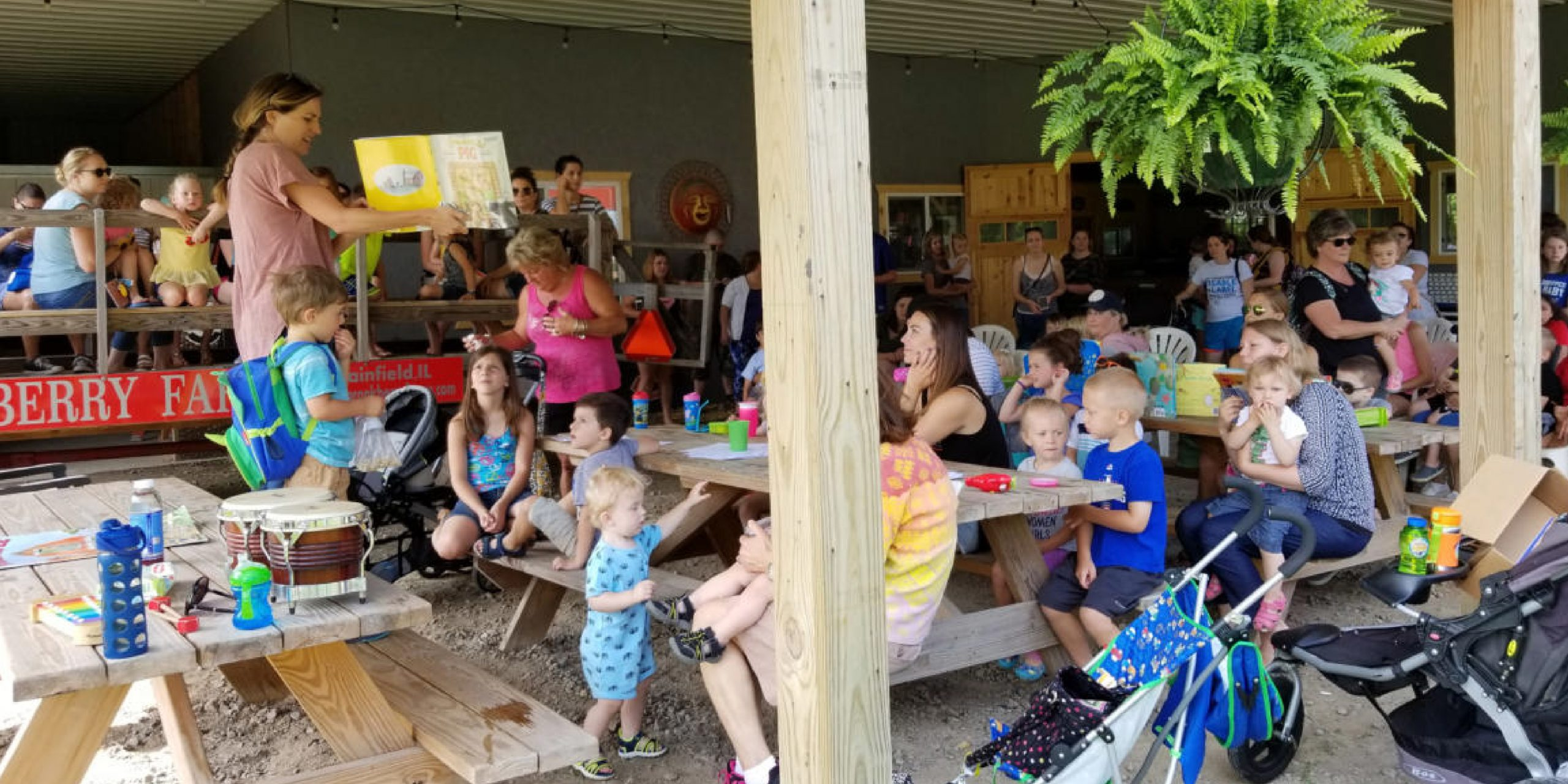 Books In The Barn / Storytime